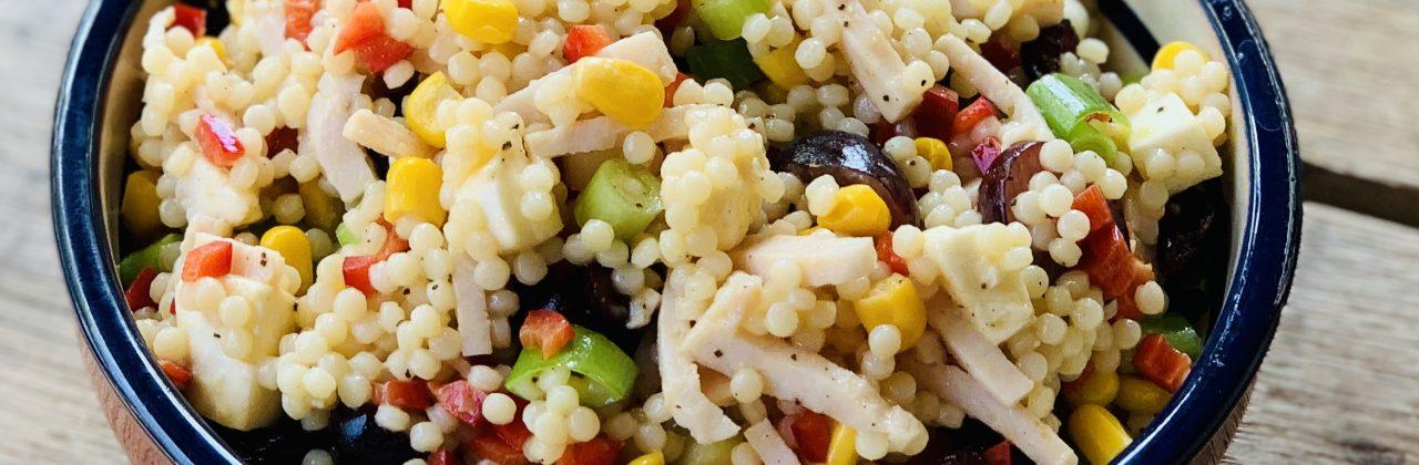 Salade van parel couscous