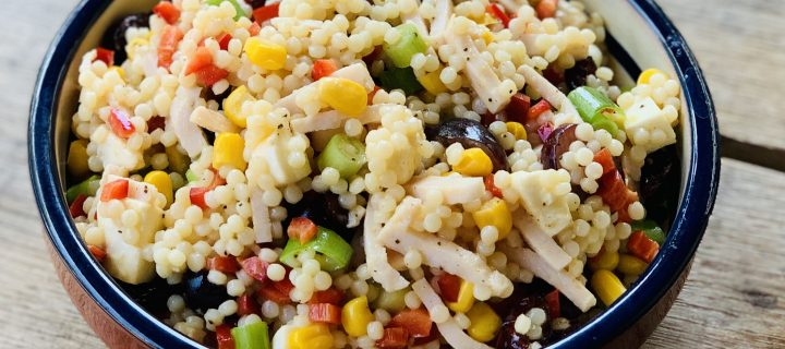 Salade van parel couscous